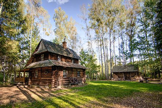 chatka w lesie poznaj nasze domy
