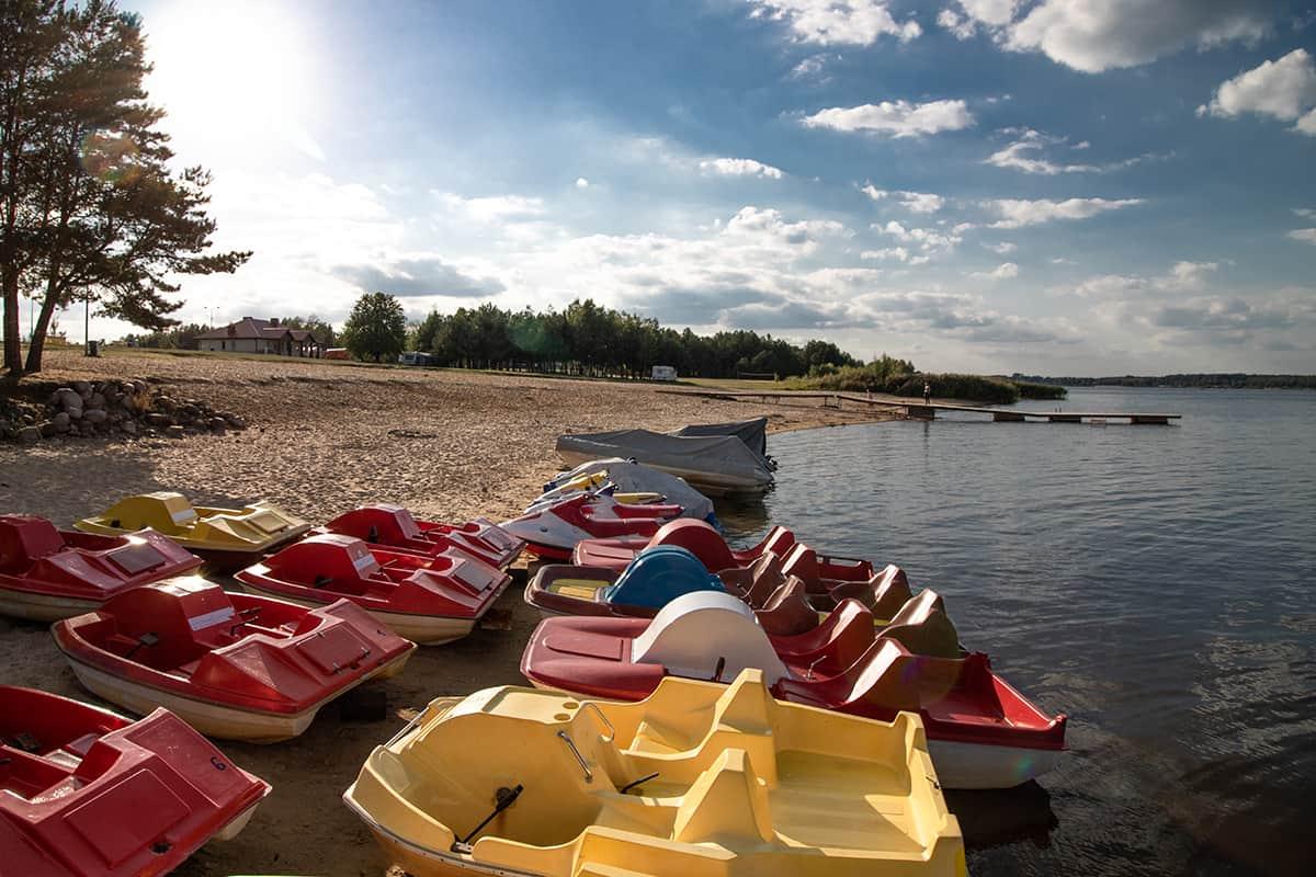 plaża Stary Dwór nad Zalewem Siemianówka