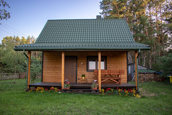 dom i taras leśna 21