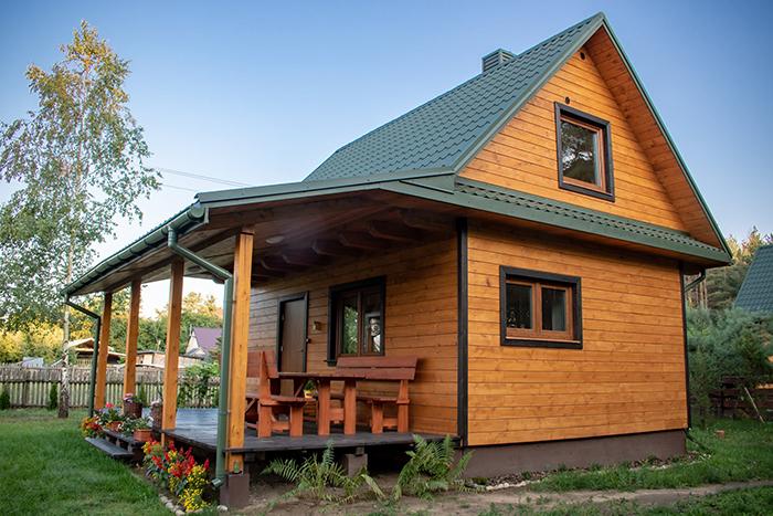 dom leśna 21 zalew siemianówka