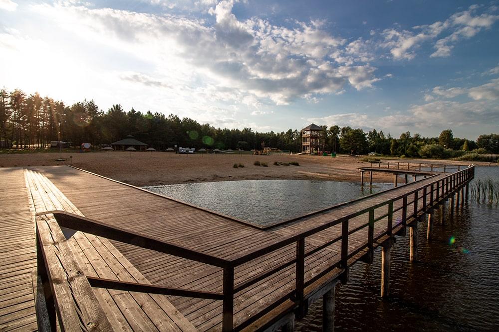 weekend majowy nad jeziorem
