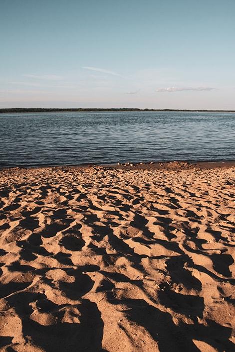 plaża siemianówka